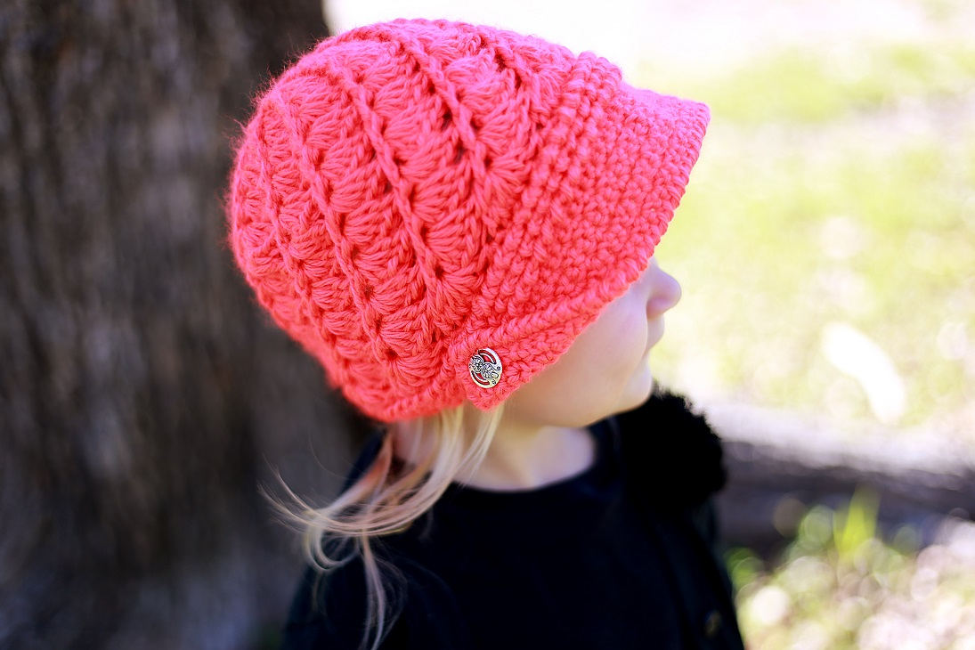 Free Crochet Pattern Toddler Newsboy Cap : Crochet Dreamz: Audrey Newsboy Hat Crochet Pattern, Baby ...