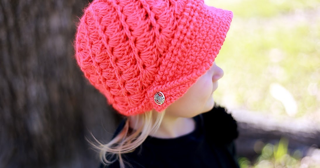 Crochet Dreamz: Audrey Newsboy Hat Crochet Pattern, Baby ...