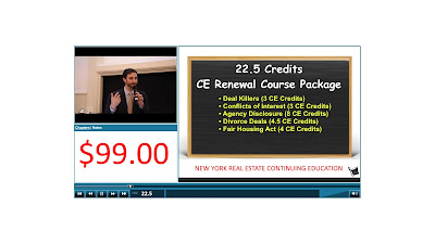 Lieb School Launches 22.5 CE License Renewal Course Package | Online Video Classes | $99.00