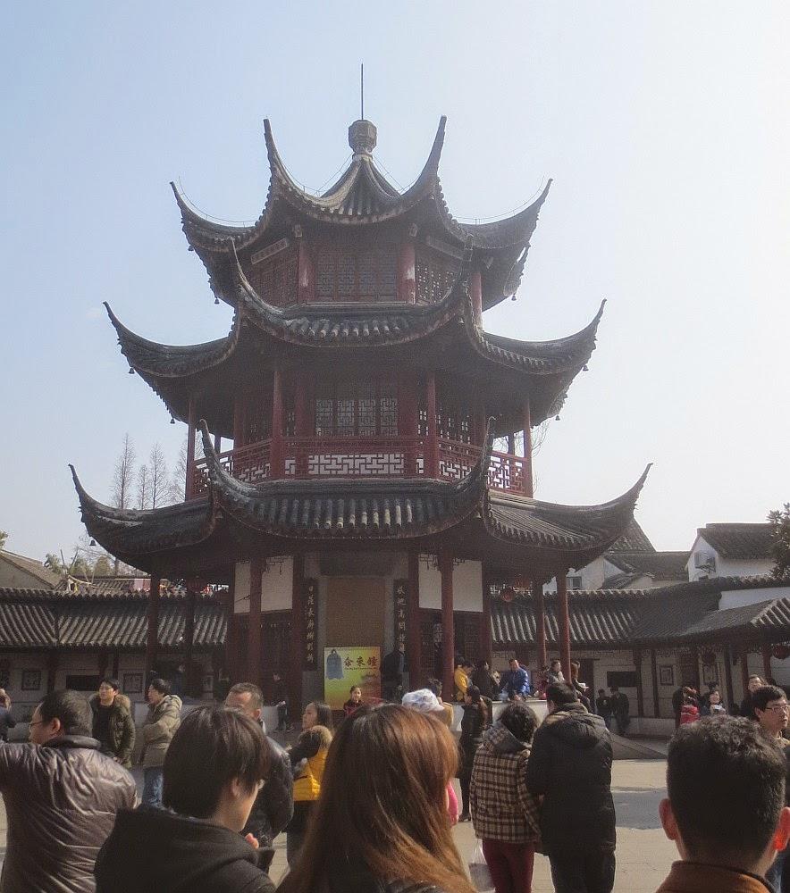 Qibao - Glockenturm