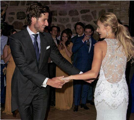 vestido fiesta boda alba carrillo