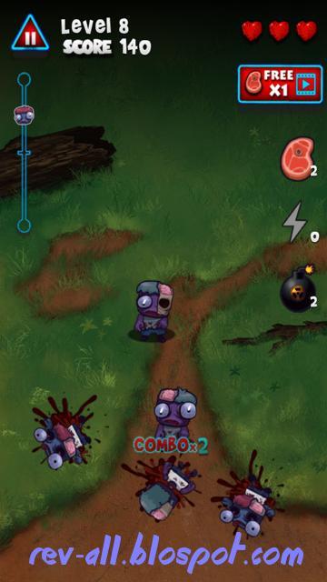 Mulai Bermain Game Android Zombie Smasher - Permainan tap zombie yang lewat layar (rev-all.blogspot.com)
