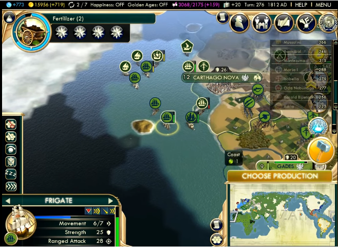 Noobventures: Collapse of Carthaginian Empire | Civilization V Giant on