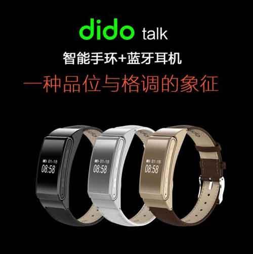 Đồng hồ thông minh kiêm tai nghe Bluetooth DIDO TALK chính hãng