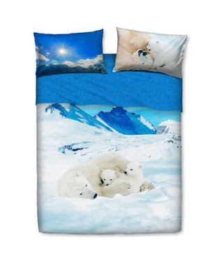Bears in the snow de Bassetti Imagine. Juego de sábanas