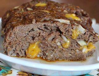 Cheeseburger Keto Meatloaf