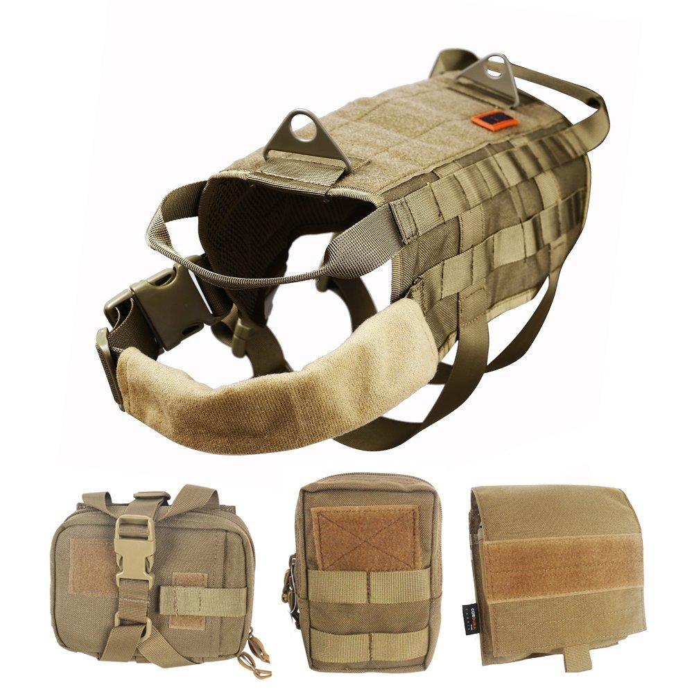 Dog Harness Vest - Dog Tactical Vest Harness - Service Dog ...