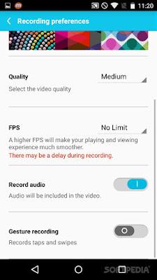 تصوير شاشه الهاتف, تطبيق يتيح لك تسجيل الفيديو و التقاط الصور, Mobizen Screen Recorder, , أندرويد, التقاط صوره اثناء تسجل فيديو, تسجيل الفيديوهات, اضافه  التأثيرات للفيديوهات و التعديل عليها