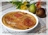 clafoutis aux figues et lait d'amandes LA MANDORLE