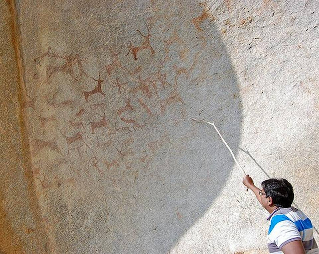 Prehistoric rock art found in India's Madanapalle