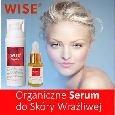 ORganiczne serum do skóry wrażliwej WISE