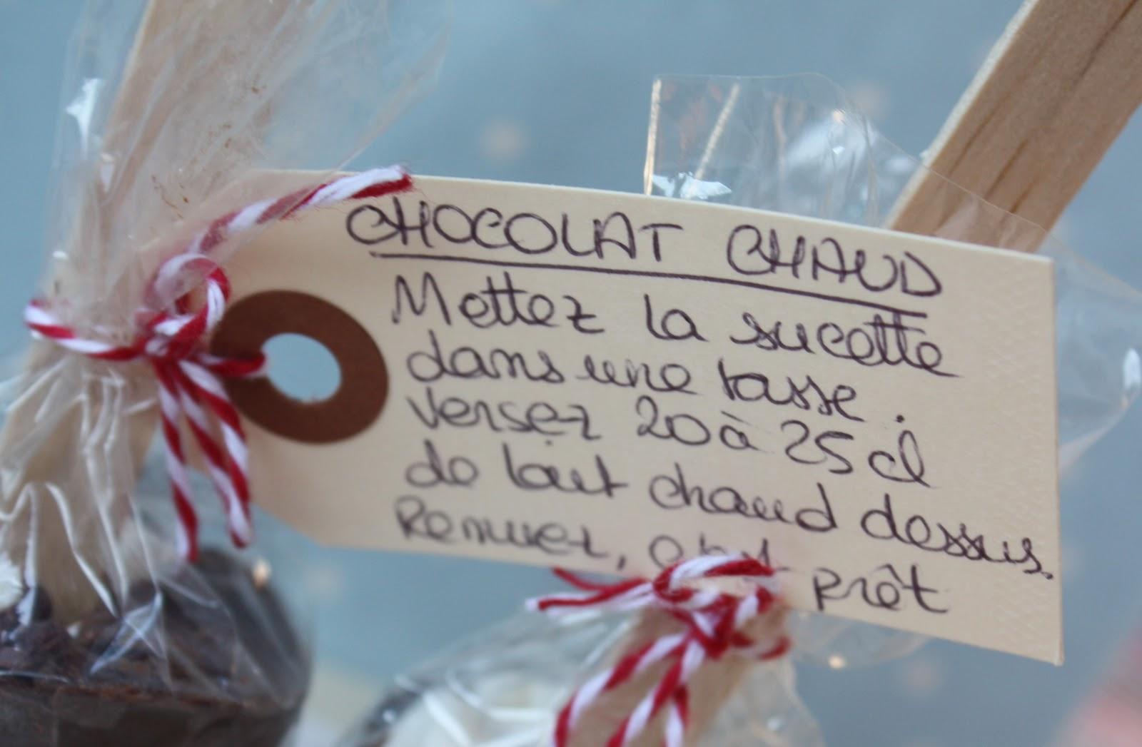 une irr sistible envie de sucettes de chocolat pour chocolat chaud. Black Bedroom Furniture Sets. Home Design Ideas