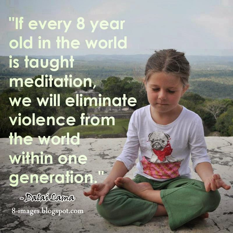world, taught, meditation, eliminate, violence, world,