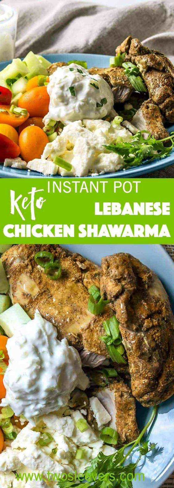 Keto/Low Carb Chicken Shawarma