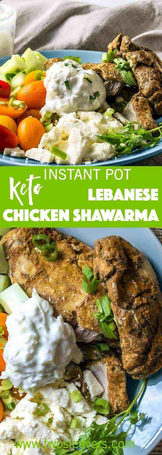 Keto/Low Carb Chicken Shawarma