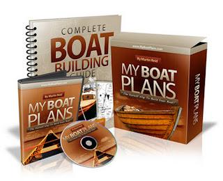MyBoatPlans® 518 Boat Plans - High Quality Boat Building Plans -