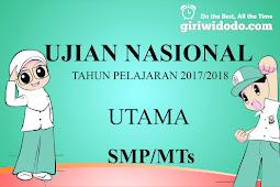 Download Soal UN IPA SMP 2018