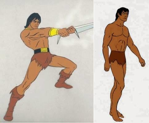 blackstar tarzan filmation