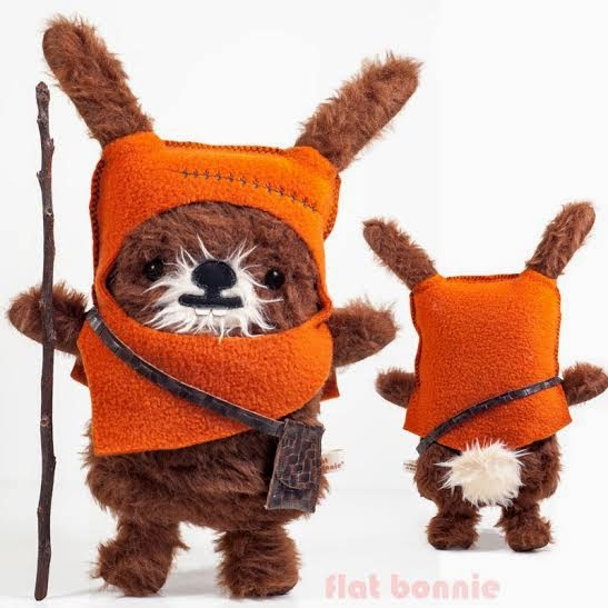 WonderCon 2015 Exclusive BunEwok Star Wars Plush by Flat Bonnie