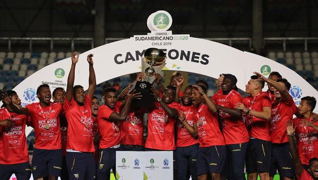 Ecuador y su primera estrella Sudamericana