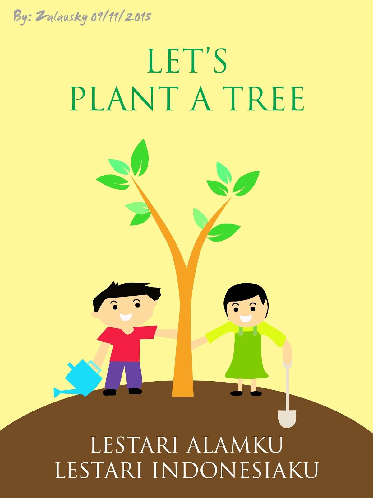 Lingkungan Hidup Mudah Digambar Contoh Poster Ide Poster