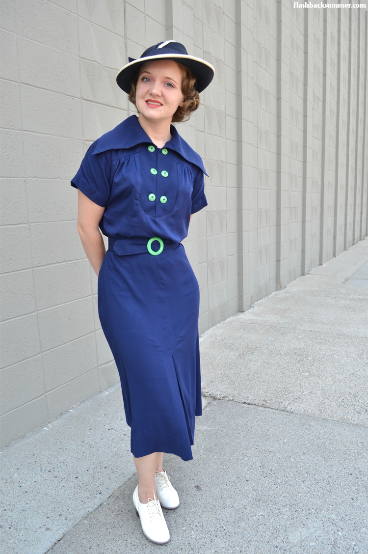 Flashback Summer: Art Deco Gina Dress - mid 1930s