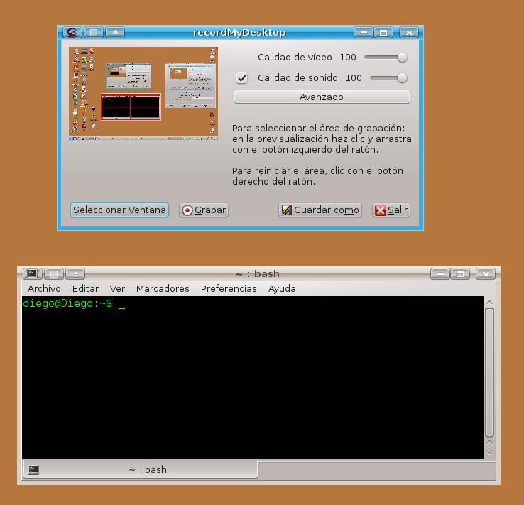UsuarioDebian: gtk-recordmydesktop, graba tu escritorio