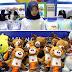 'Booming'nya Maskot Boneka Asian Games 2018,
