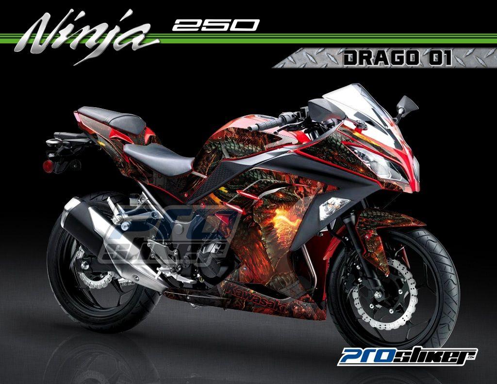 99 Gambar Motor Modifikasi Ninja 250 Fi Terupdate Gubuk Modifikasi