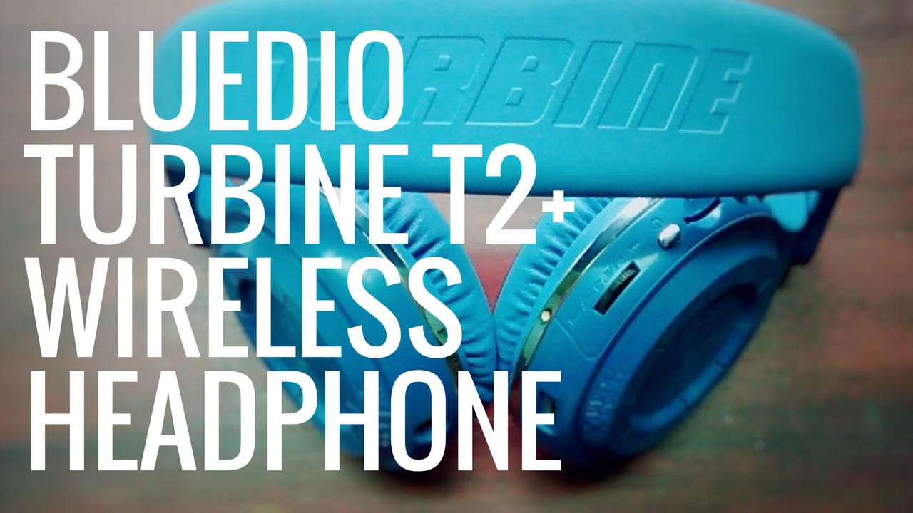 Bluedio Turbine T2+ Wireless Bluetooth Headphone