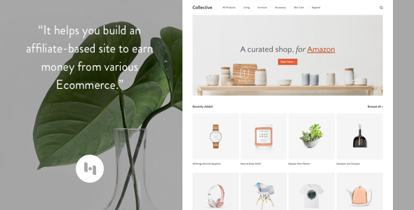 Template Collective: Theme to Create an Affiliate-Based Site Blogging