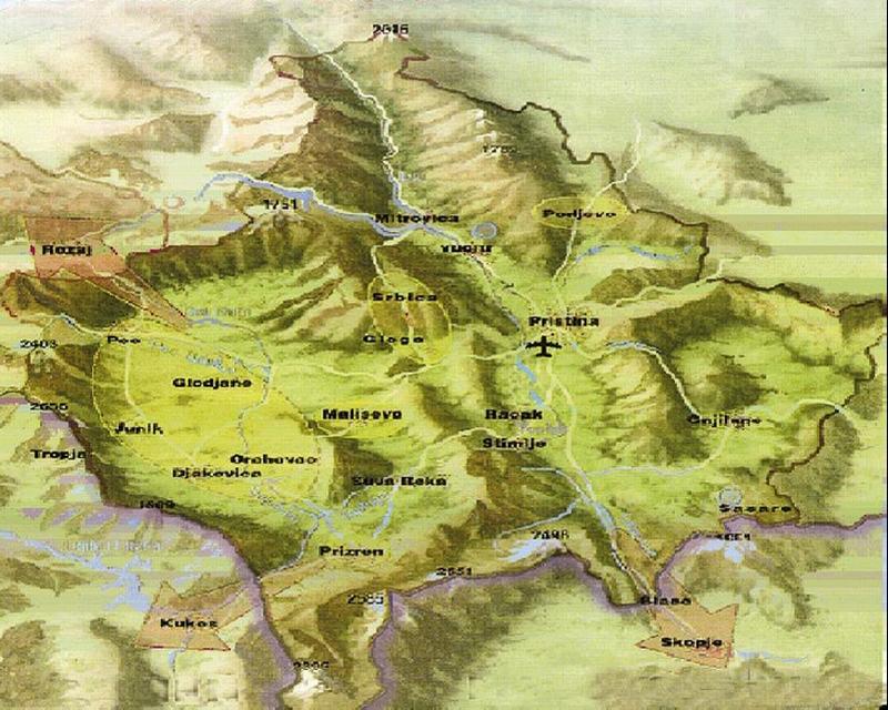 Gjeografia e Kosovës