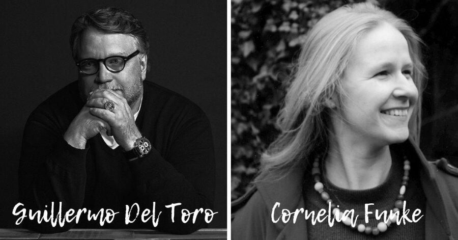 Guillermo Del Toro e Cornelia Funke