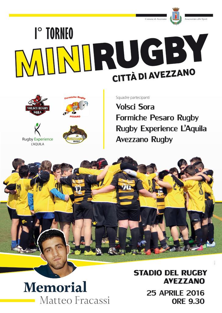 Torneo mini rugby - 1° Edizione, Memorial Fracassi