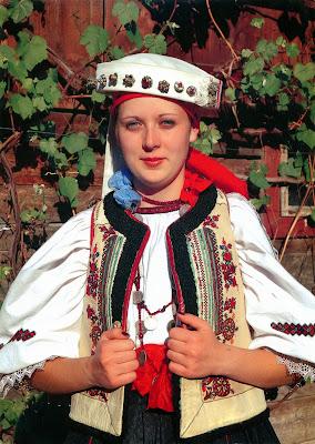 girl in romania