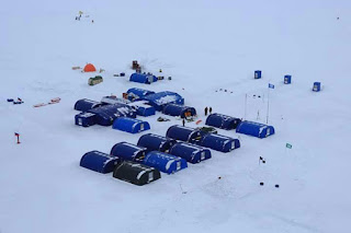 KE7B Takluk Kutub Utara Lima Hari Lebih Awal