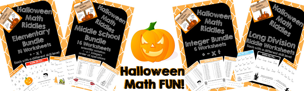 Snyder Classroom Make Math FUN this Halloween!