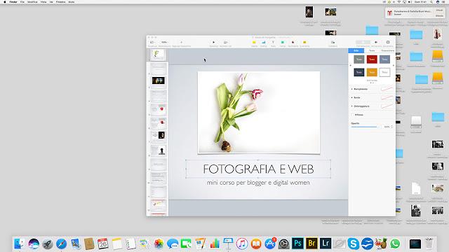 Corso di fotografia per blogger e creative