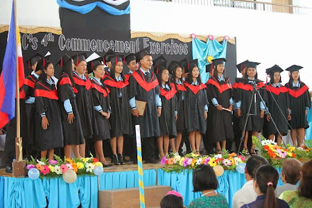 Our Newest Graduates at Leyte Christian College