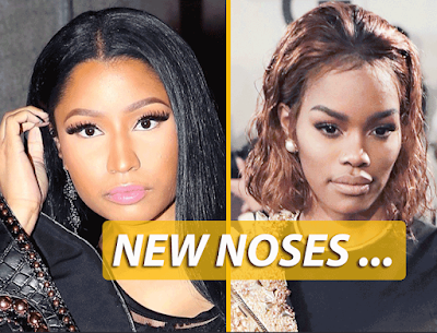 See This Old Pic Of Nicki Minaj And Teyana Taylor's Old Noses… You Can Barely Recognize Either Of Them!