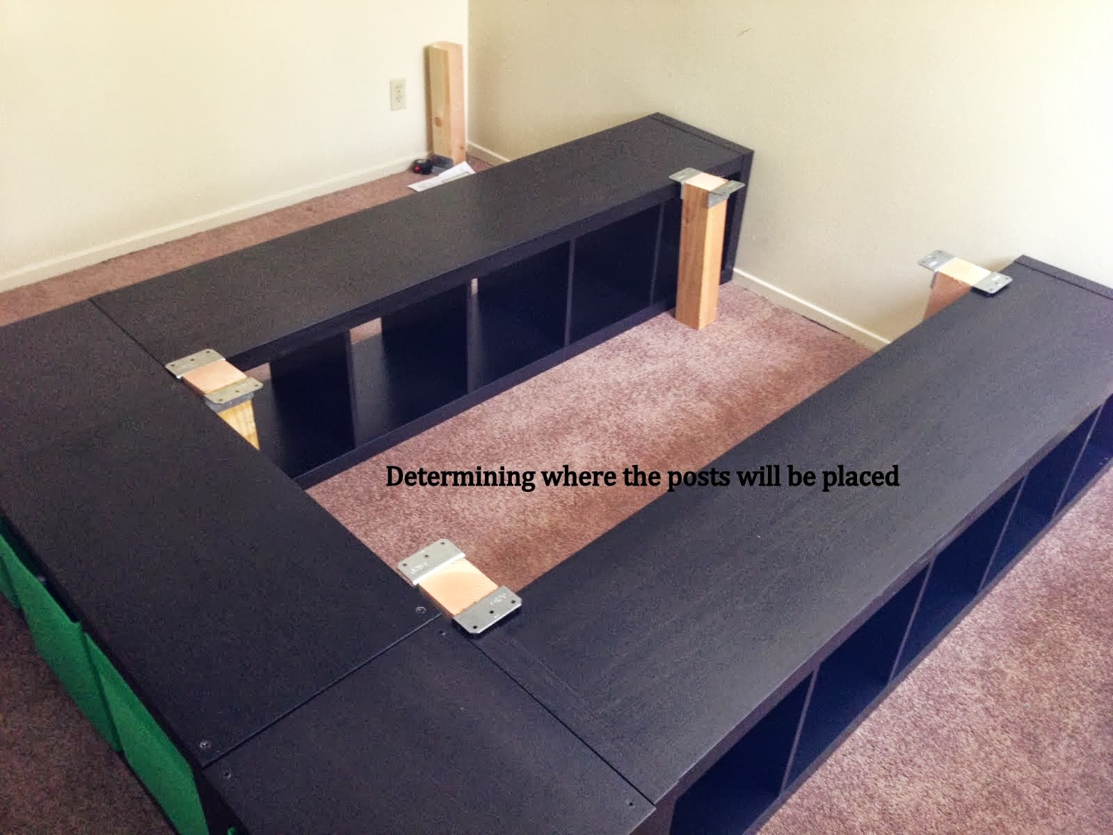 Expedit Queen Platform Bed