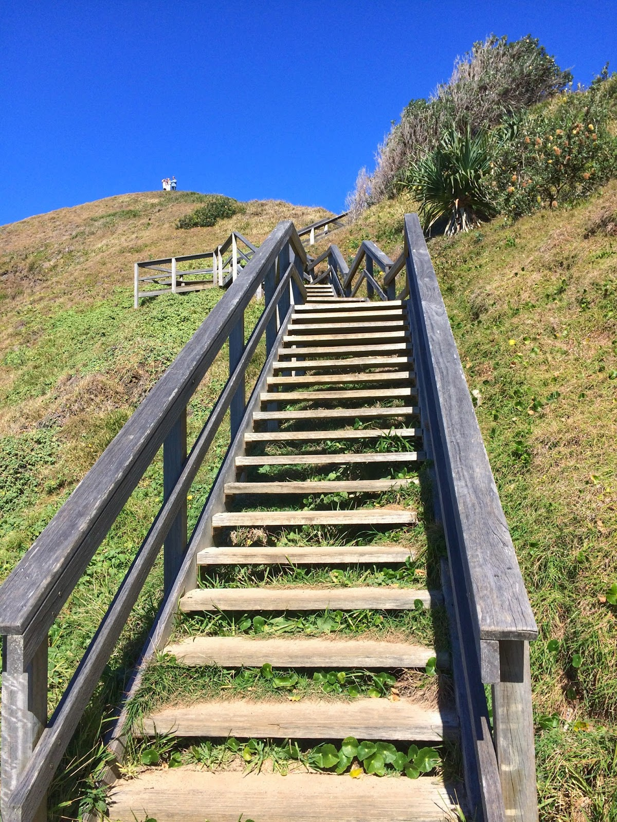 Stairs to Tacking Point Lighthouse Port Macquarie