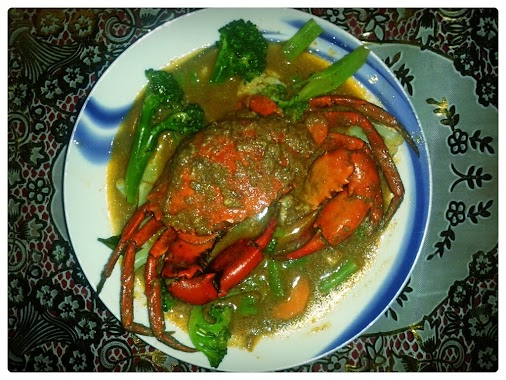 Crab with coconut milk I wanted to share this recipe for a long time, but due to my finals I was unable...