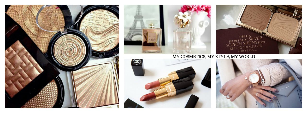 My cosmetics, my style, my world
