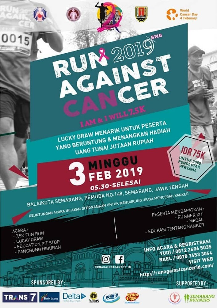 Run Against Cancer • 2019