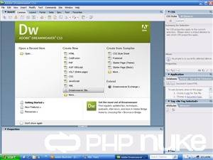 Adobe dreamweaver cs5 crack version faree download haris for Free php templates for dreamweaver