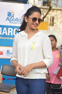 Actress Rakul Preet Singh at Endometriosis Awareness Walk at Apollo Cradle  0047.jpg