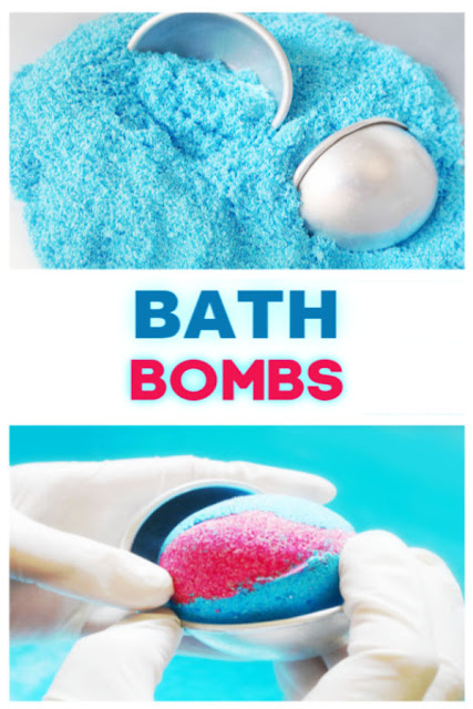 Bath bombs recipe tutorial for kids. These are so fun to make kids will ask to make bath boms again & again! #bathbomsdiyrecipes #bathboms #bathbombrecipe #bathbombs #bathbombsrecipe #howtomakebathbombs #makebathboms #recipeforbathboms #bathbombsdiyrecipes