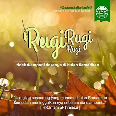 Hati-Hati Merugi di Bulan Ramadhan