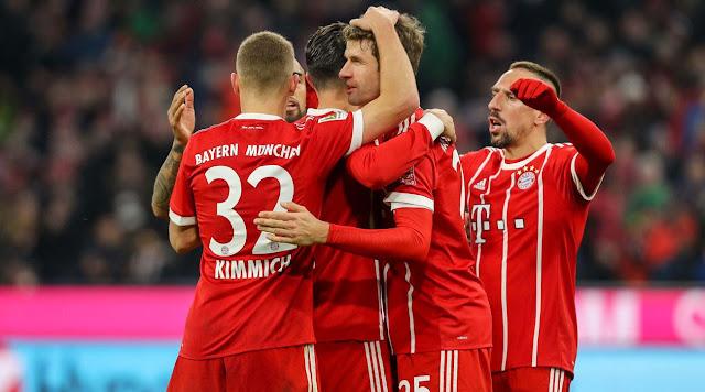 Bayern Munchen Menang Melawan Schalke